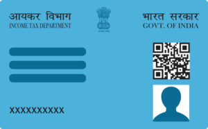 Guidelines for the filing of a new PAN card submission form